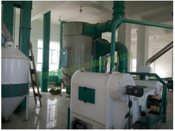 新疆阿克苏一师四团日加工100吨面粉厂