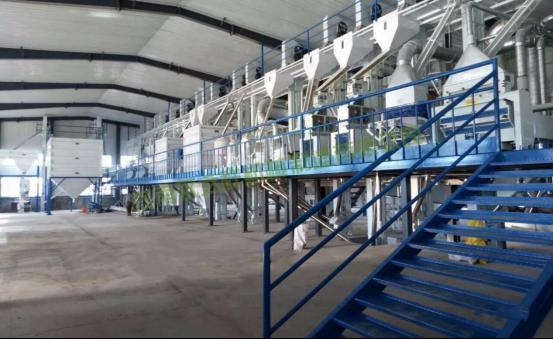 MCTF100-200吨成套碾米设备