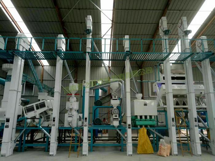 MCTF35-40吨成套碾米设备
