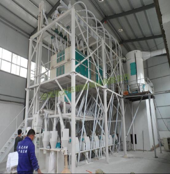 <b>日加工60吨成套面粉机组</b>