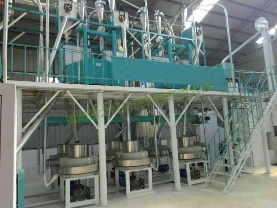 内蒙包头日加工15吨石磨面粉机