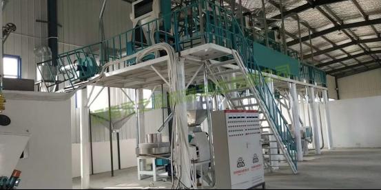 陕西西安日加工15吨石磨面粉机