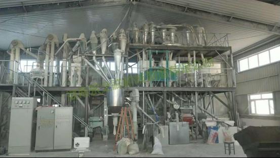 高粱、燕麦、荞麦脱皮制粉设备