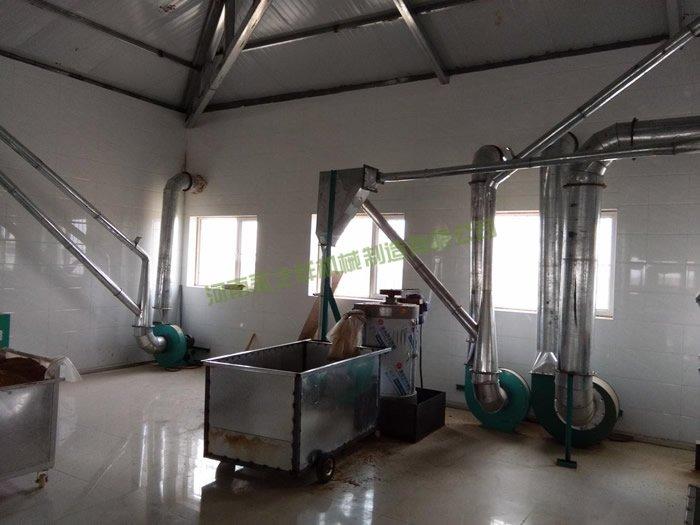 内蒙杭锦旗40吨面粉设备投入生产